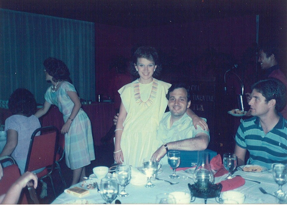 My dad and I in the Philippines on my first missions trip